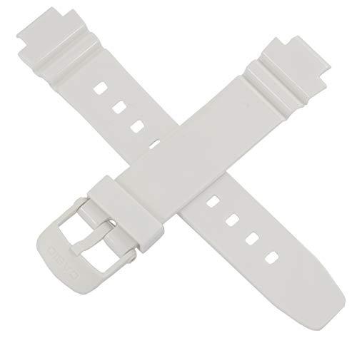 Casio 10435836 Uhrenarmband für LRW-250H LRW 250H 250 Weiß