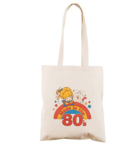 Made in the 80s Rainbow Brite Tote Bag