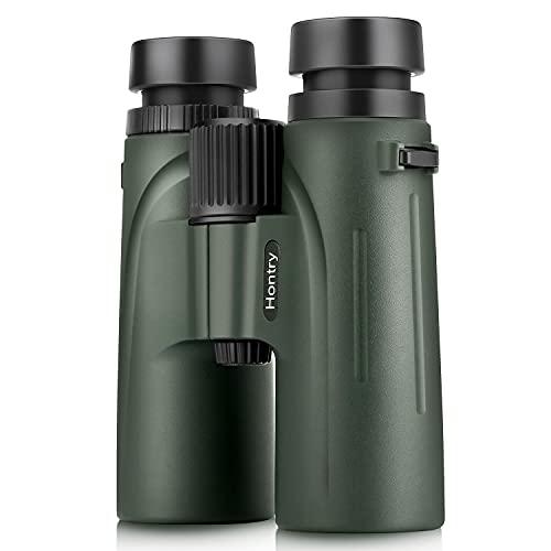 Hontry 8x42 Bird Watching Binoculars, IPX6 Waterproof Binoculars for Adults