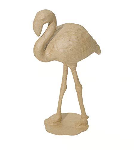 Decopatch Small Mache Flamingo Brown