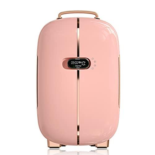 FDSZ Mini refrigerador, Maquillaje de alimentación portátil de 12L refrigerador del refrigerador del refrigerador del refrigerador/Calentador
