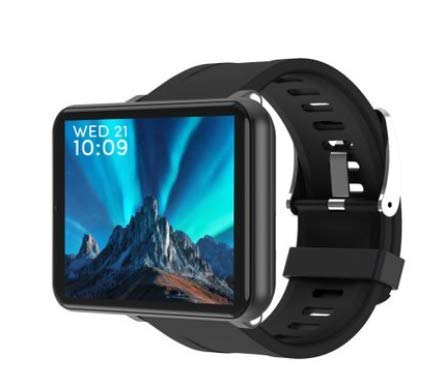 Touch Screen Smart Watch, Fitness Tracker with Heart Rate Monitor,Activity Tracker, Waterproof Pedometer Watch for Kids (Black, 3+32GB)