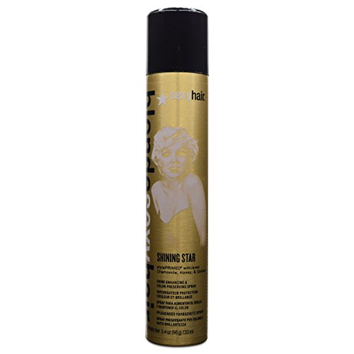 Sexy Hair Blonde Shining Star Color-Preserving Spray, 3.4 Ounce by Sexy Hair