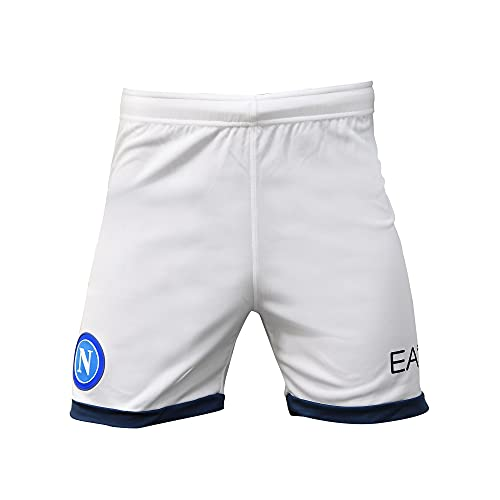 SSC Napoli Season 21/22 Spielshorts Weiß/Blau Man M