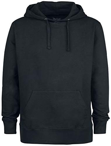 Black Premium by EMP Bodies Homme Sweat-Shirt à Capuche Noir L