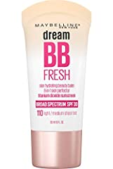 DREAM FRESH BB CREAM: Daily 8 in 1 BB skin perfector brightens, smoothes, hydrates, & protects with broad-spectrum SPF 30. Gives skin a dewy finish. LIGHT COVERAGE FOUNDATION + SKINCARE BENEFITS = BB CREAM: BB Cream adjusts to skin tone, minimizes & ...