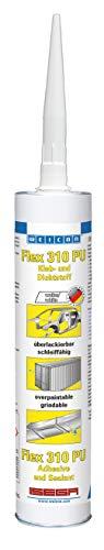 Weicon 13300310 Flex 310 PU 300ml weiß – Montagekleber & Dichtstoff für Holz, Metall, UVM