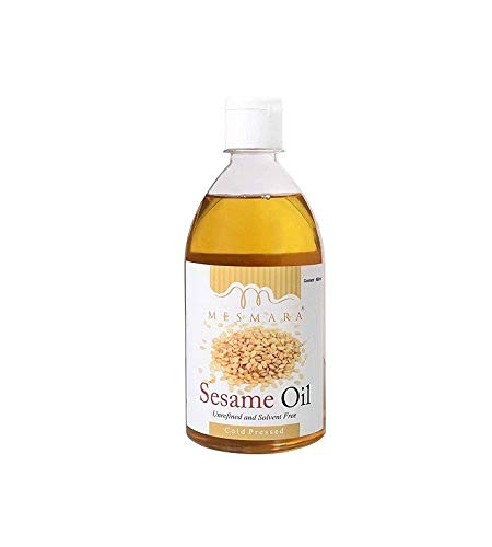 Mesmara Sesame Oil Cold Pressed - Gingelly / Sesame Oil (Virgin, Chekku / Ghani) - 500 ml