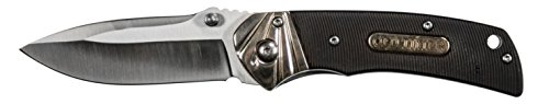 Old Timer 902OT 6.89in High Carbon S.S. Assisted Opening Knife with 2.9in Drop Point Blade and Sawcut Handle for Outdoor, Hunting, Camping and EDC, Multicolor