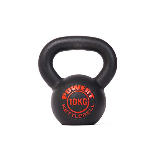 POWERT Cast Iron Kettlebell|Premium Quality Powder Coated|Ergonomic Design|Great for Weight Lifting Workout & Core Strength Training& Muscle Building...