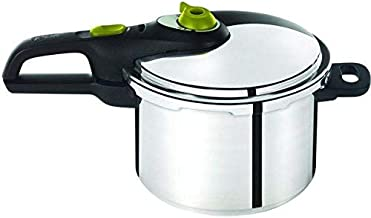 Tefal 6 Liter Stainless Steel Secure Neo Pressure Cooker, Silver - P2530742