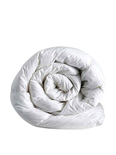 Italian Bed Linen Invernale Una Piazza, Poliestere, Microfibra, Bianco, 150 x 200 cm