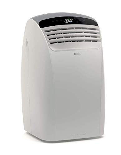 Olimpia Splendid Mobile Air Conditioner 12,000 BTU / h, 2.7 kW, 01919 Dolceclima Silent 12 P, Natural Gas R290, Italian Design