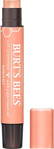 Burt's Bees 100% Natural Moisturizing Lip Shimmer (Apricot) $2.40 w/ S&S + Free Shipping w/ Amazon Prime or Orders $25+