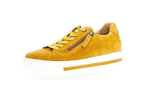 Gabor Mujer Zapatillas, señora Bajo,Zapatilla de Negocios,Cordones,Calzado de Calle,de Exterior,Calzado Deportivo,Casual,Ocio,Herbst,40 EU / 6.5 UK ⭐