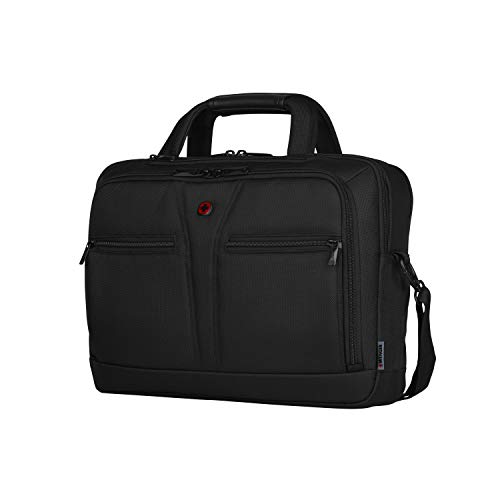 Wenger BC Pro 14 Zoll – 16 Zoll Notebooktasche, schwarze premium Business Laptoptasche 15,6 Zoll /39,6 cm mit Tablet- und RFID Fach
