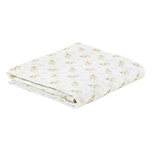 Stephan Baby Viscose Cotton Muslin Swaddle Blanket, Pete The Puppy