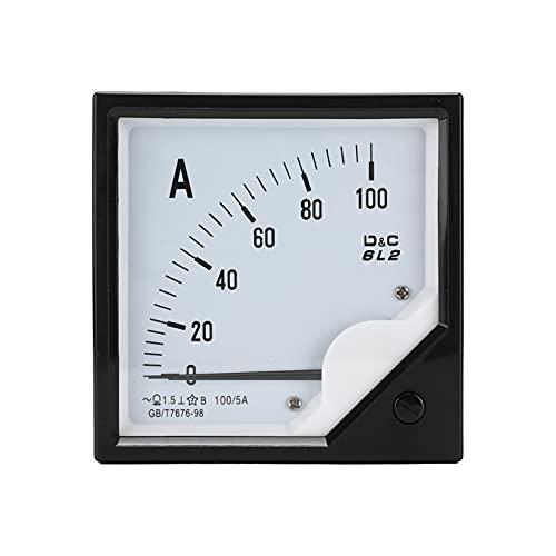 Annadue Wechselstrom-Zeiger-Strommesser, 6L2 Ampere-Tester-Messgerät für die chemische Industrie, elektrische Energie usw.