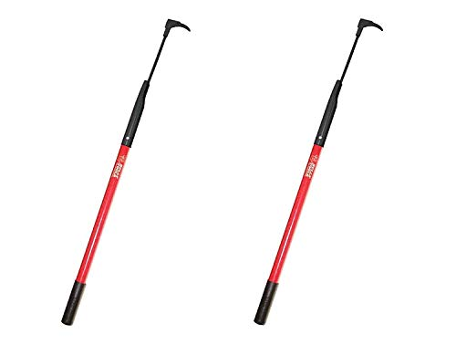 Cheapest Prices! Bully Tools 92395 7-Gauge 3-Inch Bean Hook/Paver Weeder with Dual-Sided Blade (Pack...