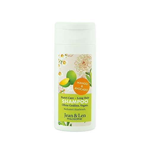Jean & Len Shampoo Nutri Care - Long Hair Mango & Avocado, 50 ml, 2800100204