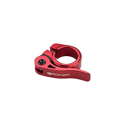 Promax QR-1 Quick Release Seat Clamp 25.4mm Red