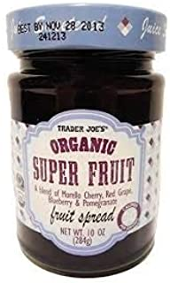 Trader Joes Organic Super Fruit Spread 10 oz (Case of 3)
