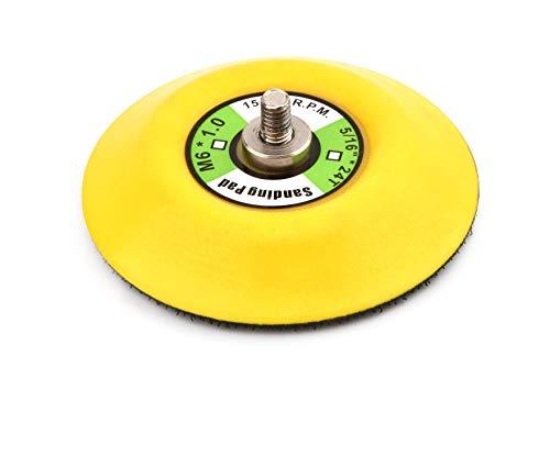 Almohadilla de pulir almohadilla de pulir 75 mm (3 '), para amoladora / pulidora Mini, 1 pieza