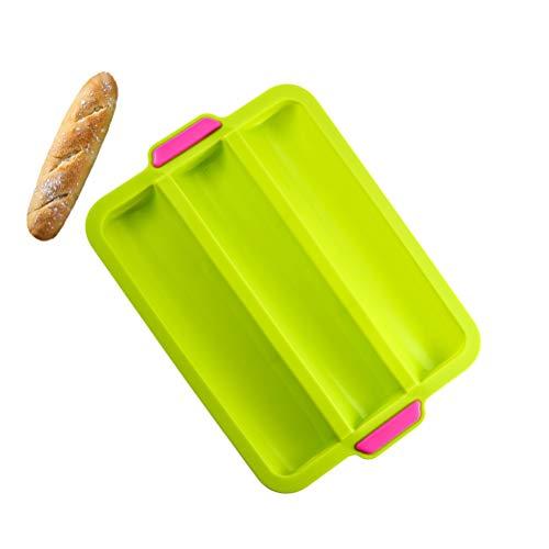 SAMTITY Französisches Brot Backblech, französische Antihaft-Brotform, Mini-Baguette-Backform, Laib-Backform