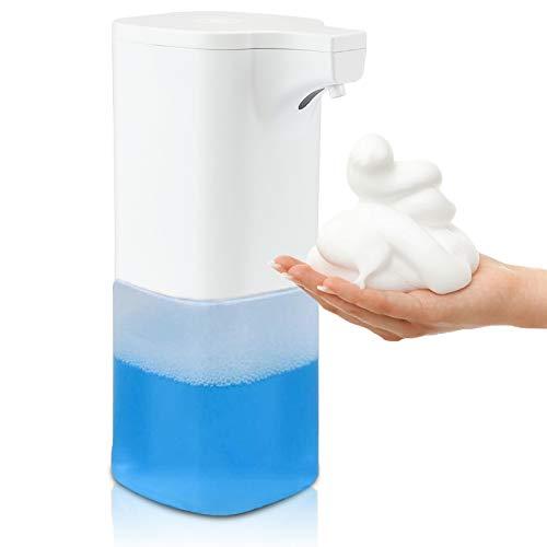 REEXBON Seifenspender Automatisch mit Sensor Automatischer Sensorspender Elektrischer Seifenspender für Küche Badezimmer Hotel Restaurant 350ml