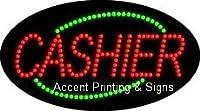 Cashier Flashing &アニメーションLEDサイン( High Impact、エネルギー効率的な)