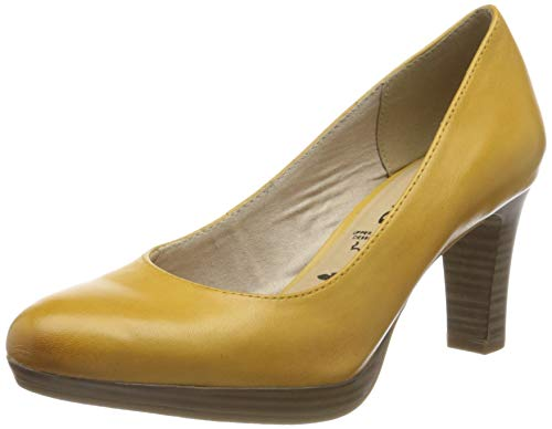 Tamaris Damen 1-1-22410-24 Pumps, Gelb (Sun 602), 41 EU