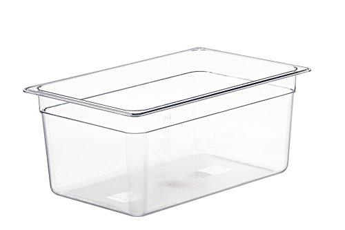 LIPAVI Cubeta sous vide modelo C15 – 18 litros | 44,8 x 29,1 X 20 cm | Policarbonato transparente y fuerte. Tapas* a juego para Anova, Wankel y más. Rejilla* de L15 *Se vende por separado