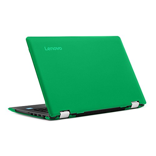 """mCover iPearl Hard Shell Case for New 14"""" Lenovo Ideapad Flex 5 14 (5-1470, NOT Compatible with Older Flex 4-1470 Series) Laptop Computers (Green)"""