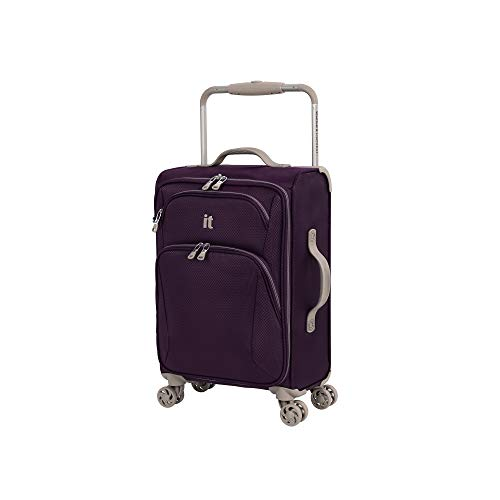 it luggage Sprightful World's Lightest Softside Spinner, Purple, Carry-On 22-Inch