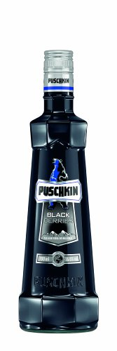 Puschkin Black Sun 16,6%vol. 1 Liter
