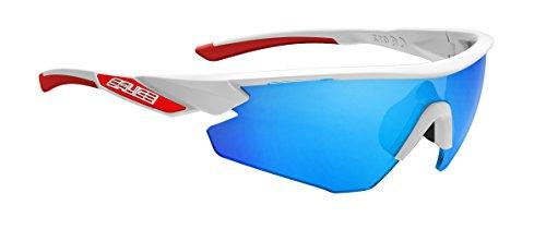 Salice 012RWP - Gafas de Ciclismo, Color Blanco, Talla únic