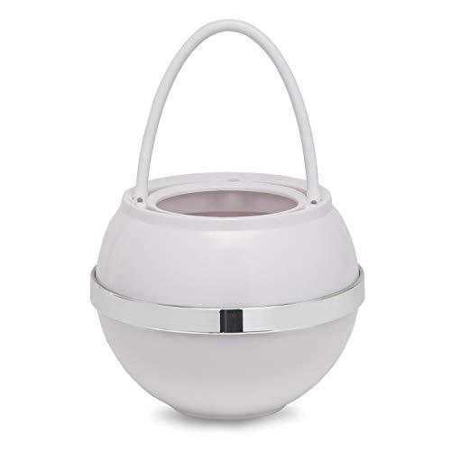 Crystal Quest CQE-SP-00808 White Bath Ball Filter