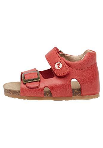 Falcotto BEA-Sandale aus gewachstem Kalbsleder.-Rot rot 19