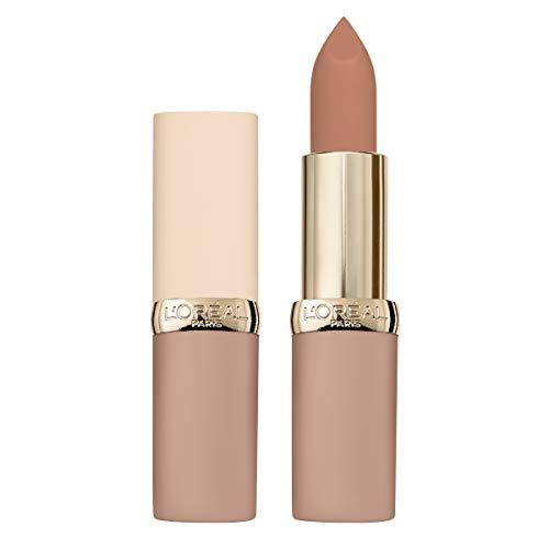 L'Oréal Paris Color Riche Ultra Matte Free the Nudes 01 No Obstacles, farbintensiver Lippenstift im zarten Nude-Ton, ultra-mattes Finish