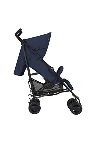 Passeggini 4 Ruote Chicco 00.79258.640 Passeggino London Up Blue Chicco Easy and agile, that's the motto of london up. for comfortable driving in the busy city this buggy is ideal. Recommended from birth to 15 kg body weight The backrest is 4-way adjustable - with only 1 hand. 6