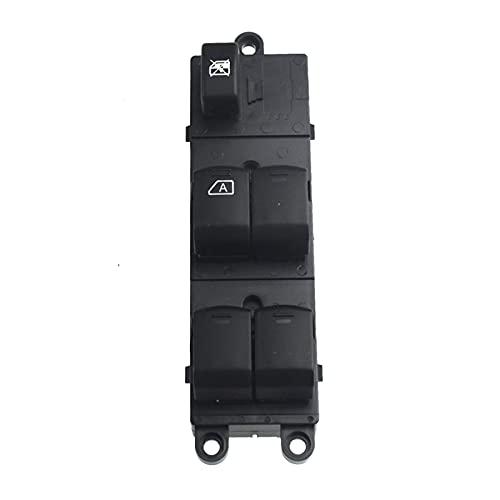 MENGMENG Mengz Store Interruptor de la Ventana eléctrica del Frente Izquierdo Master Fit para Nissan Navara D40 Qashqai Pathfinder 04-16 25401-EB30B 25401-JD001