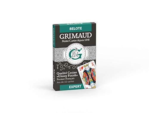 Grimaud- Belote Jeu de Cartes, 184809