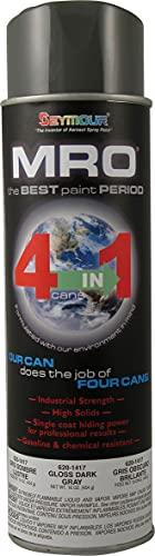 SEYMOUR 620-1417 Industrial MRO High Solids Spray Paint, Dark Machinery Gray