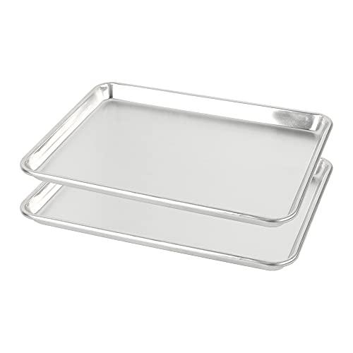 BoxedHome Pure Aluminum Baking Sheet Pans 21 x 15-Inches (2 x Big Sheet)
