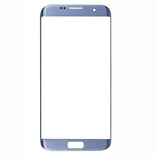 UU FIX Pantalla Cristal Frontal para Samsung Galaxy S7 Edge(Azul) LCD Touch Screen Frontal Cristal Replacment con Juego de la Herramientas