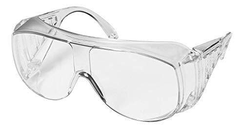 uvex 9161 Schutzbrille - für Brillenträger mit UV400-Schutz- EN 166/170 - Klar