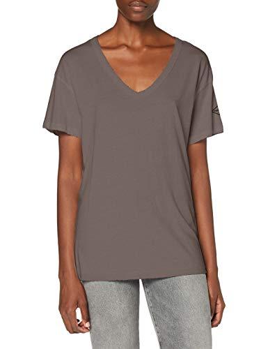 Replay Damen W3513 .000.22536G T-Shirt, 210 Dusty Grey, M