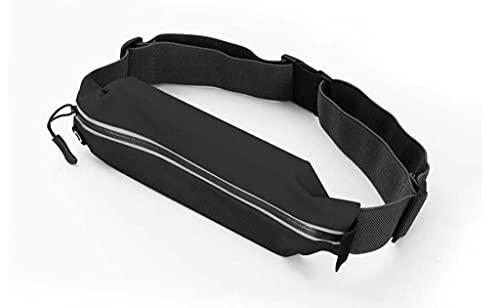 XJFLLX Bolso de la Cintura Corriente Bolsa de teléfono móvil Deportes para Hombres Equipo de maratón de Las Mujeres Cinturón Ultra-Delgado Almacenamiento pequeño Bolso al Aire Libre Invisible