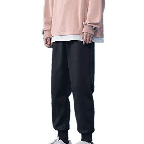Primavera Verano Casual Pantalones Azul Inferior Básico Bodyguard Pantalones de los Hombres Sueltos Color Sólido Leggings Pantalones de