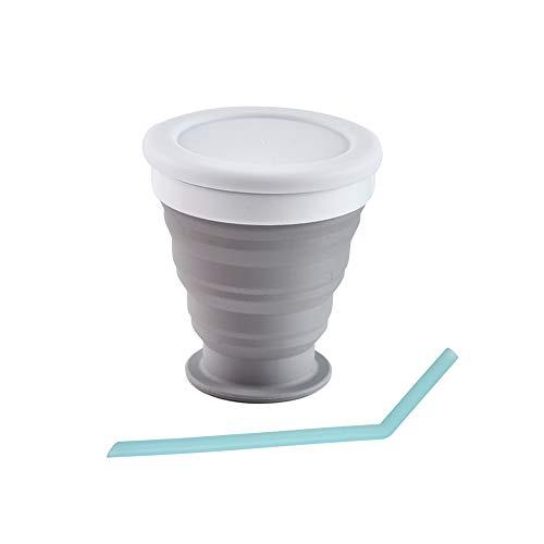DAZISEN Draagbare Herbruikbare Koffiekopjes - Reisbeker voor Kamperen en Wandelen in de Buitenlucht in Zakken en Handtassen